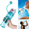 Sports Spray Water Bottle