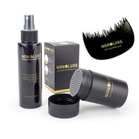 Nanoluxe Hair Fibre and Hold Spray Kit
