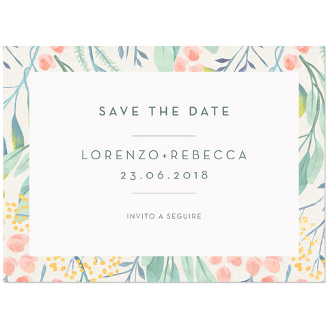 Save the Date Mimosa