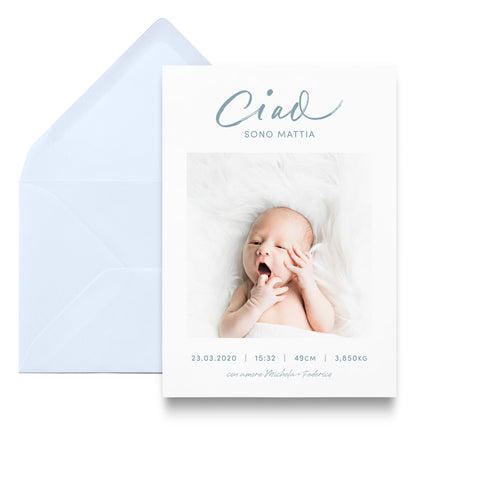 Ciao / Birth Announcements