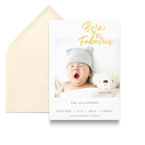 Fabulous / Birth Announcements