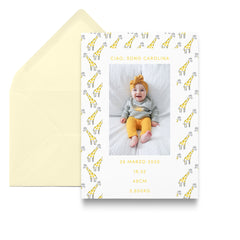 Pattern / Birth Announcements
