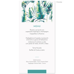 Menu Jungle