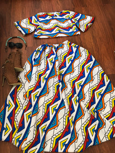 Amare Tribal 2 piece (Incl Headwrap)