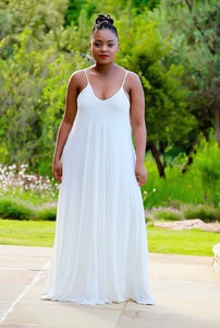 Slip Dress Off White