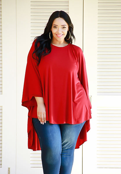 The Batwing Burgundy
