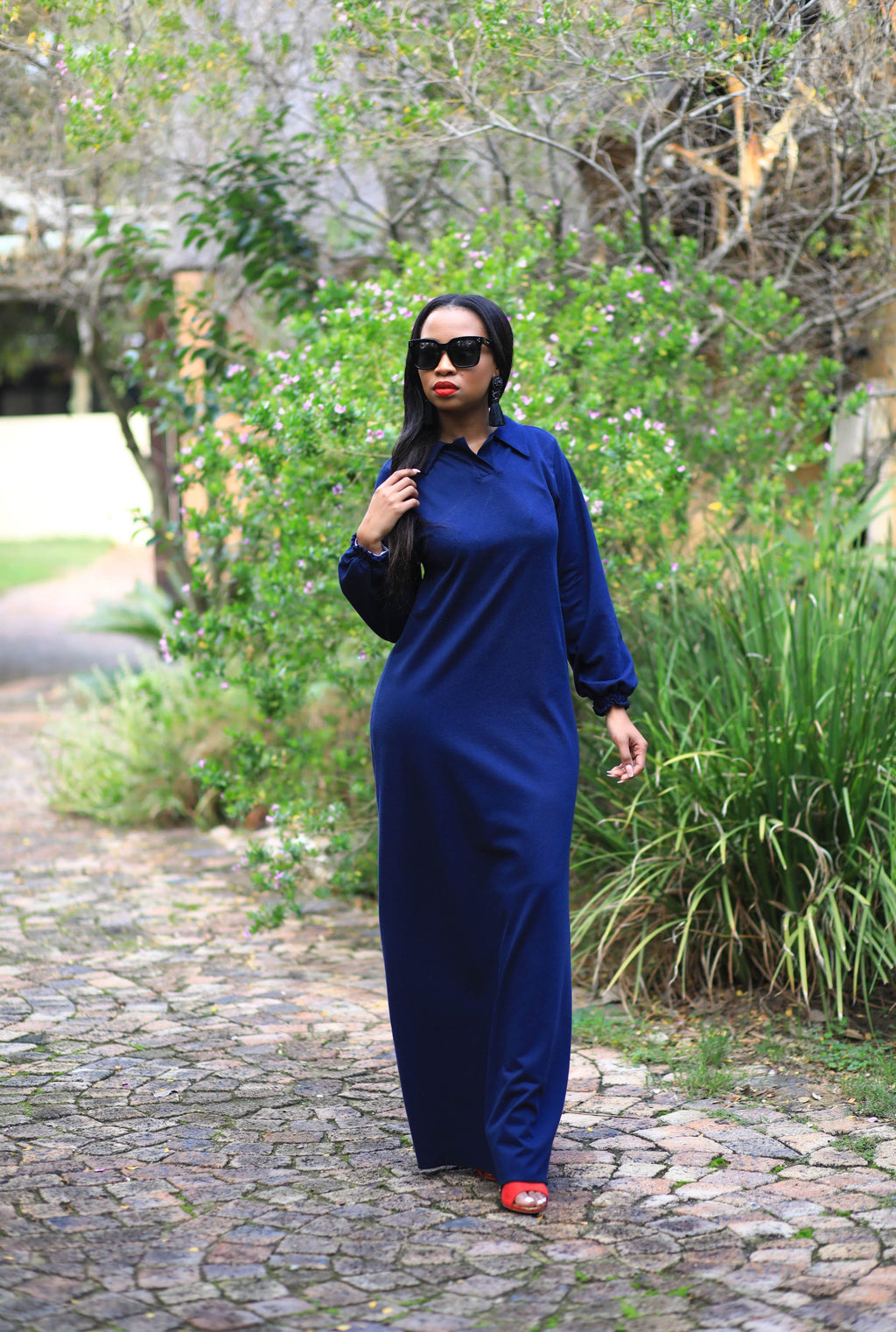 Golf Shirt Maxi Navy