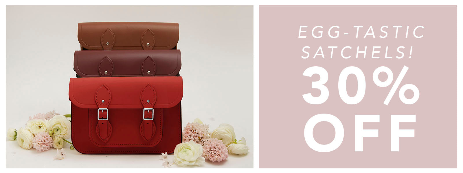 Egg-Tastic Satchels - 30% off - Cambridge Satchel
