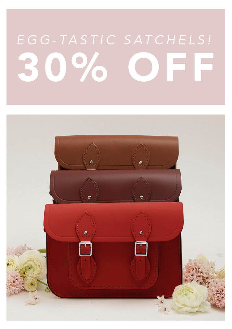 006adac34988 ... Leather bags handmade in the UK. Egg-Tastic Satchels - 30% off - Cambridge  Satchel Egg-Tastic Satchels - 30% off - Cambridge Satchel