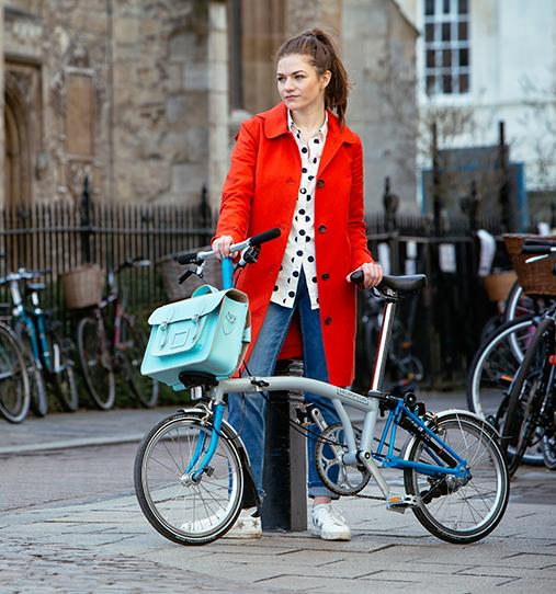 Cambridge Satchel - When CSC Met Brompton