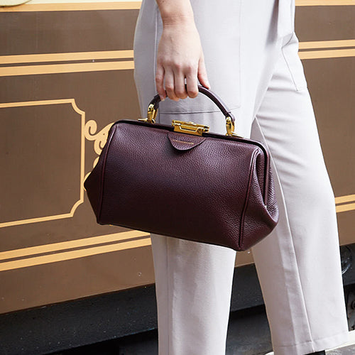 Burgundy Oxblood Sophie Leather Handbag by The Cambridge Satchel Company