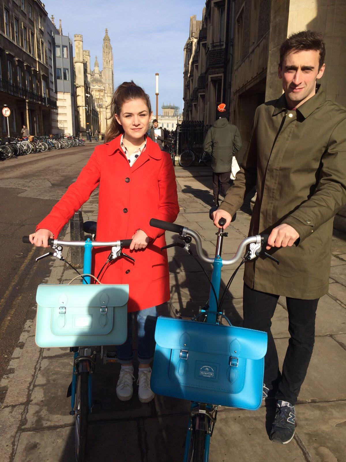 Cambridge Satchel - #CSCXBROMPTON