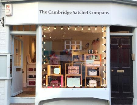 The Cambridge Satchel Company - the original and iconic brand featured in the Google Chrome advert. Stylish leather goods designed and made in Great Britain.