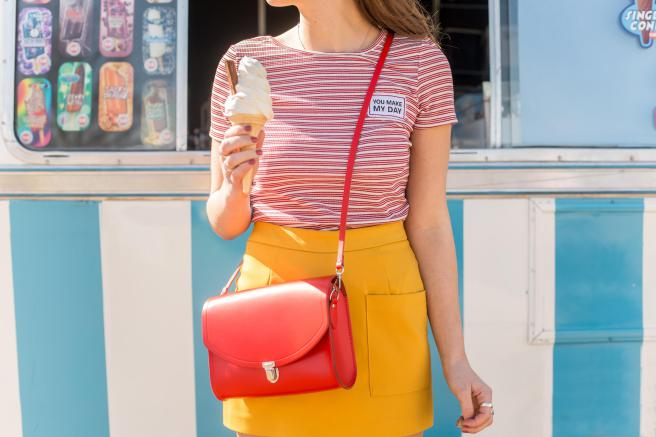 Cambridge Satchel - 8 Ways To Wear Brights