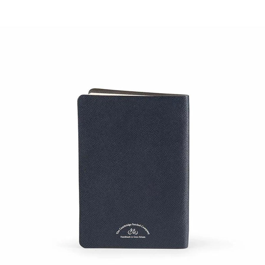 A5 Notebook in Leather - Navy Saffiano | Cambridge Satchel
