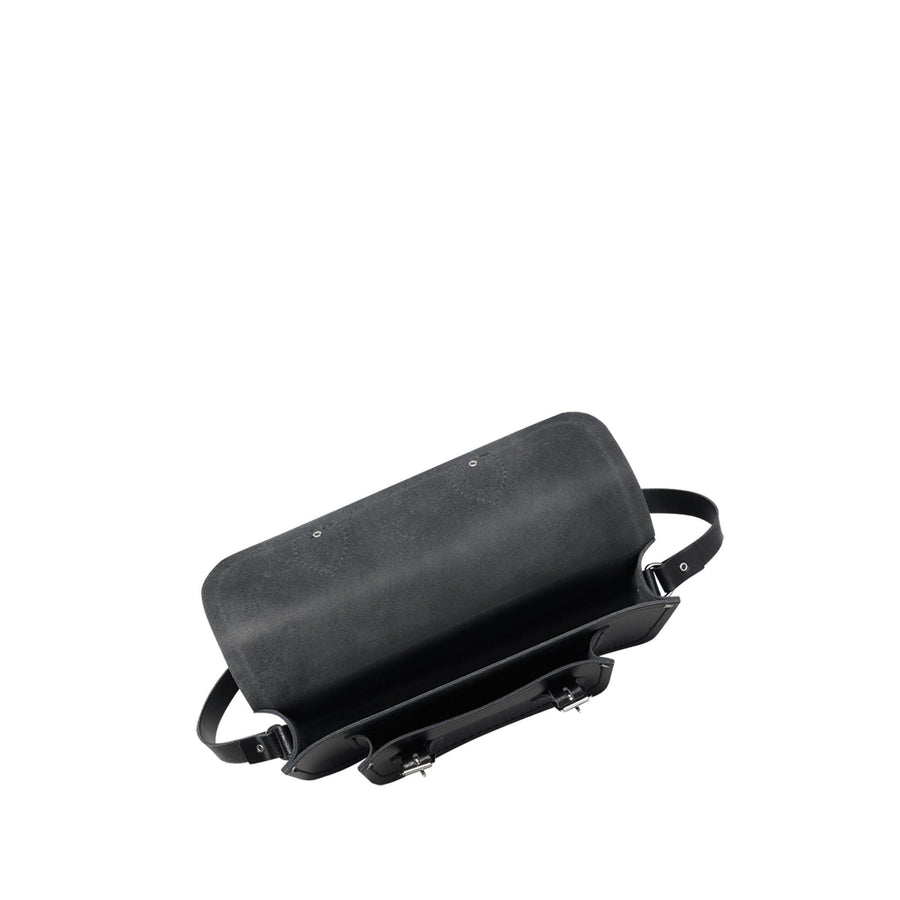 11 Inch Magnetic Batchel in Leather - Black