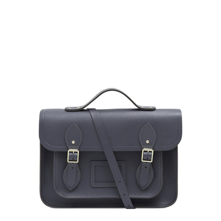 Grey Cambridge Satchel Large Leather Satchel Bag