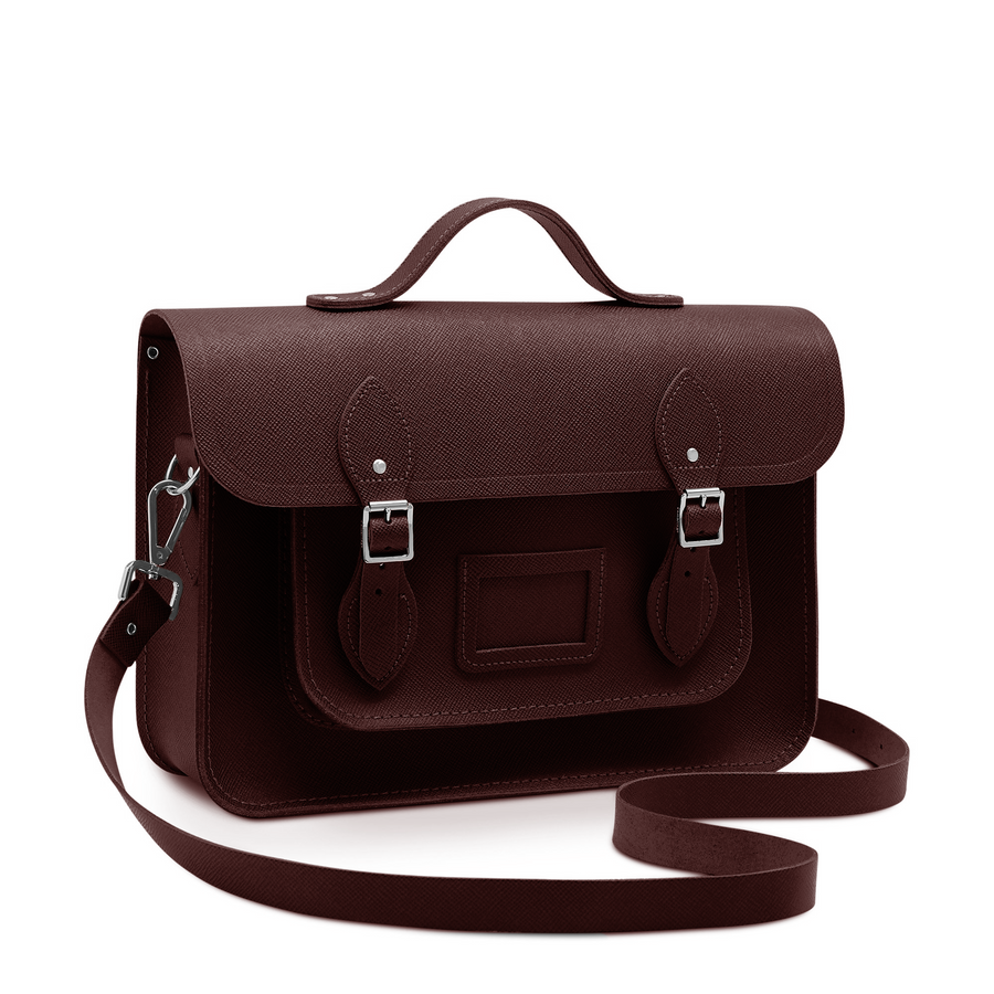 Oxblood Cambridge Satchel Large Leather Satchel Bag