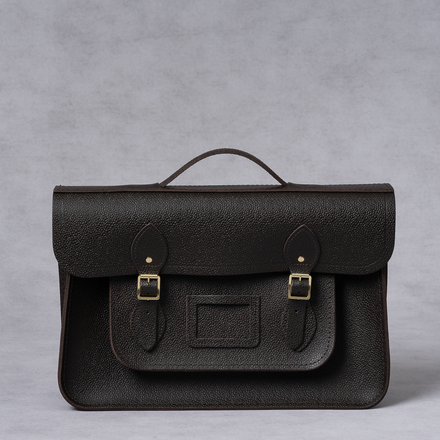 Brown Cambridge Satchel Briefcase Mens Bag