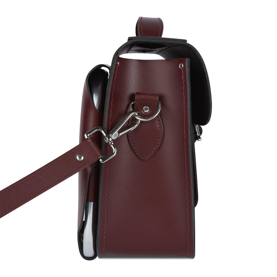 Oxblood CSC x Brompton Large Oxblood Leather Satchel Bag