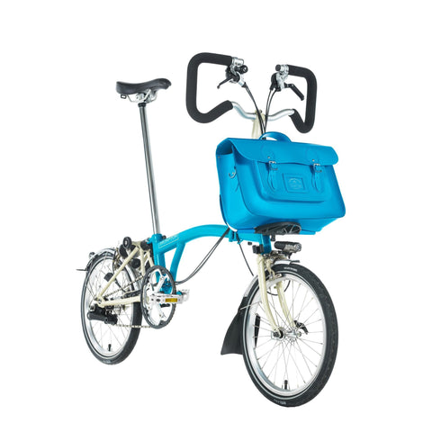 The Brompton Bike 15 inch Batchel - Lagoon Blue