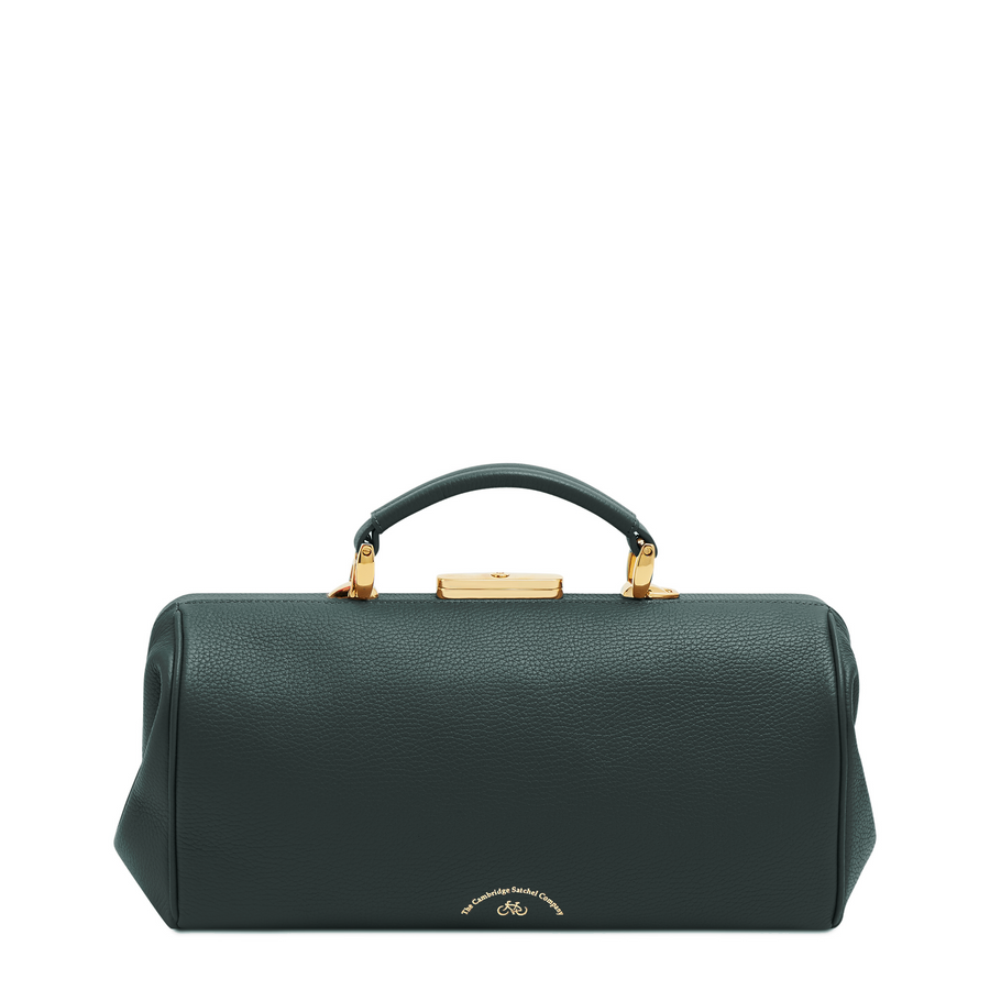 Doctors Bag - Ivy Calf Grain