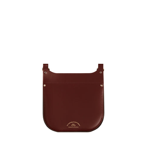Conductors Bag in Leather - Oxblood