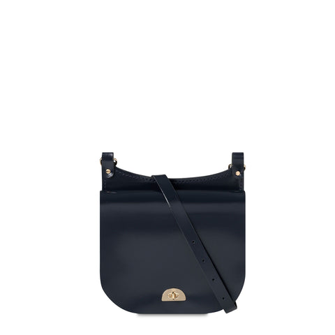 Conductors Bag in Patent Leather - Navy Patent