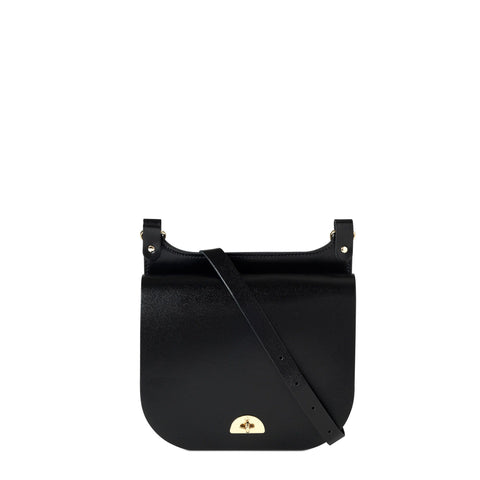 Conductors Bag in Patent Leather - Black Patent