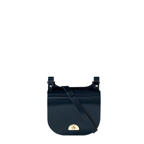 Small Conductors Bag in Patent Leather - Navy Patent
