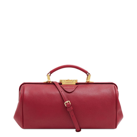 Maple Calf Grain Cambridge Satchel Leather Doctors Bag