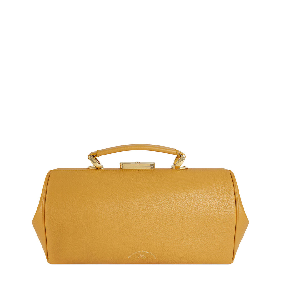 Doctors Bag - Golden Yellow Calf Grain