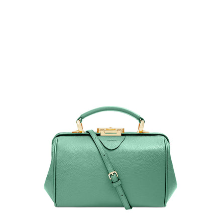 Peppermint Green Calf Grain Sophie Bag Women's Leather Handbag