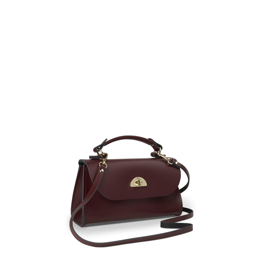 Oxblood Cambridge Satchel Women's Cross Body Small Daisy Handbag