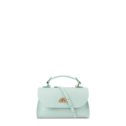 Mini Daisy Bag in Leather - Sweet Pea Blue | Cambridge Satchel