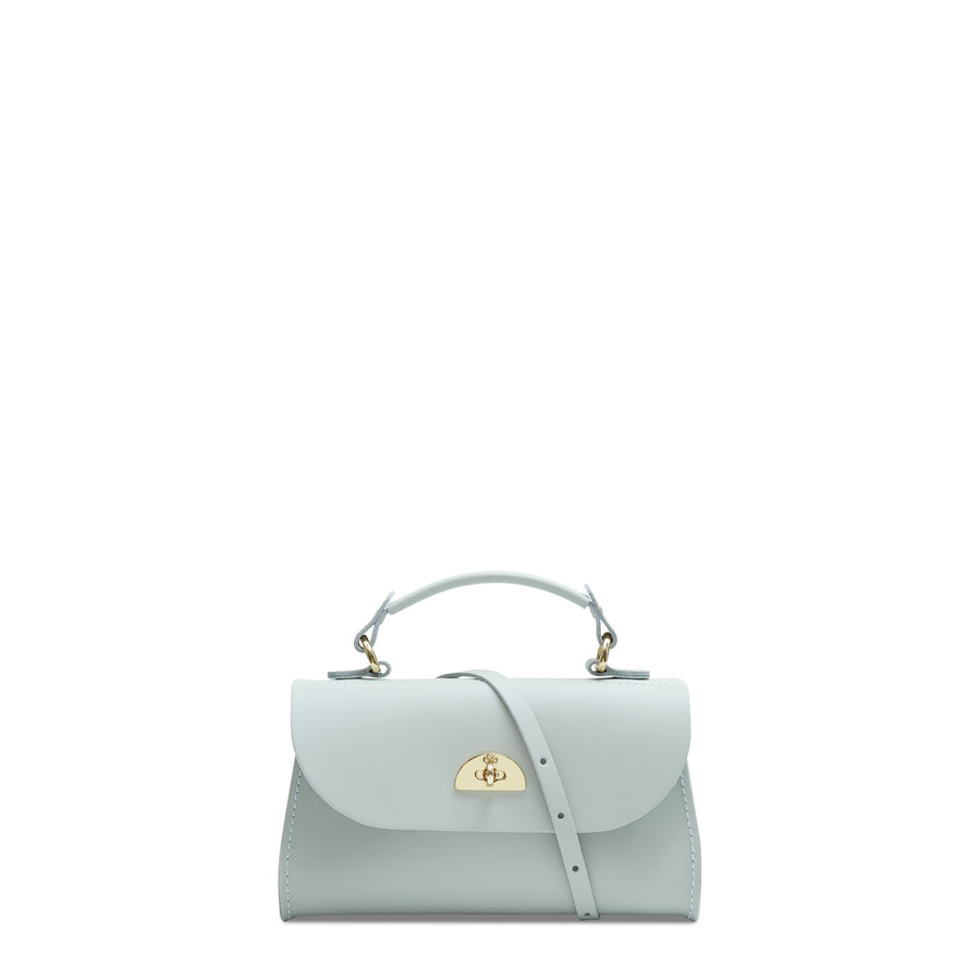 Mini Daisy Bag in Leather - Sea Foam Matte | Women's Handbag & Cross Body Bag