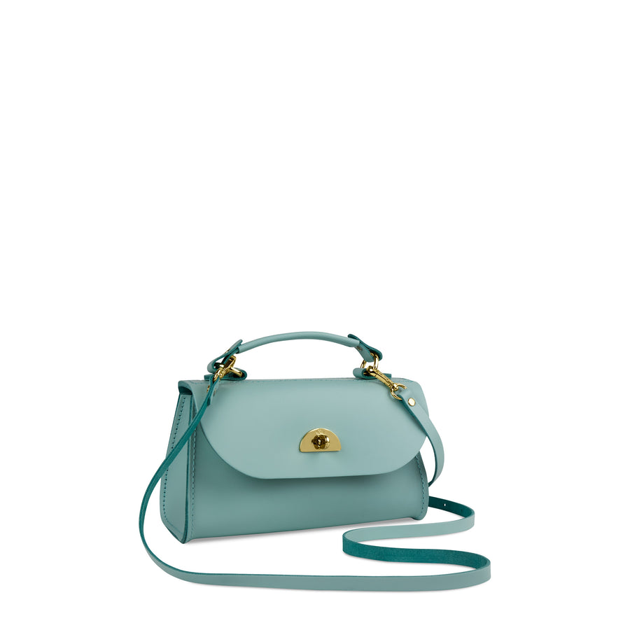 Mini Daisy Bag in Leather - Brilliant Sage Matte | Cambridge Satchel