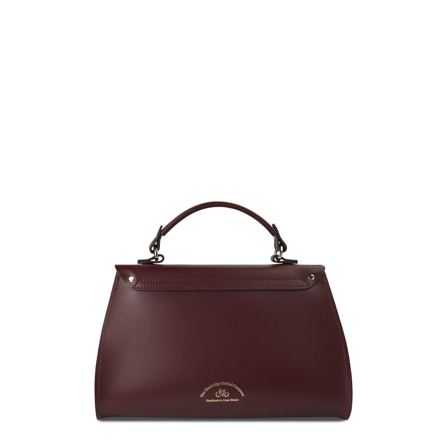Daisy Bag in Leather - Oxblood | Cambridge Satchel