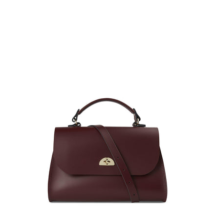 Oxblood Cambridge Satchel Women's Cross Body Daisy Leather Handbag