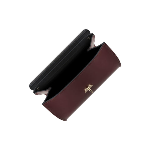 Daisy Bag in Leather - Oxblood