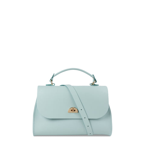 Daisy Bag in Leather - Cambridge Blue - Cambridge Satchel