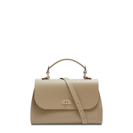 Daisy Bag in Leather - Sandstone | Women's Handbag & Cross Body Bag