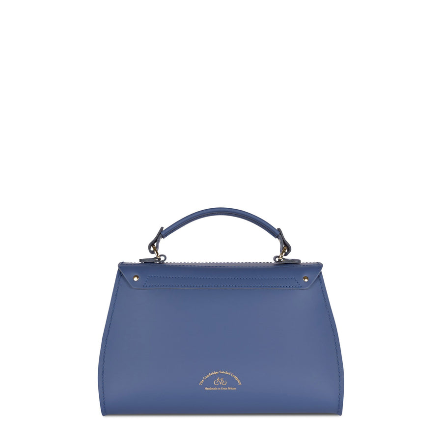Daisy Bag in Leather - Italian Blue Matte