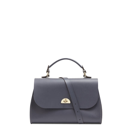 Daisy Bag in Leather - Storm Matte Saffiano