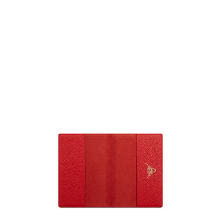 Year of the Ox Exclusive: Passport Cover in Leather - Red Grain