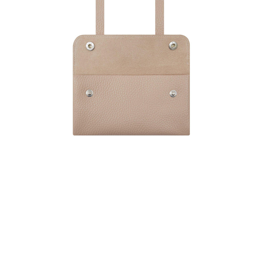 Peggy Purse in Grain Leather - Soft Pink - Cambridge Satchel