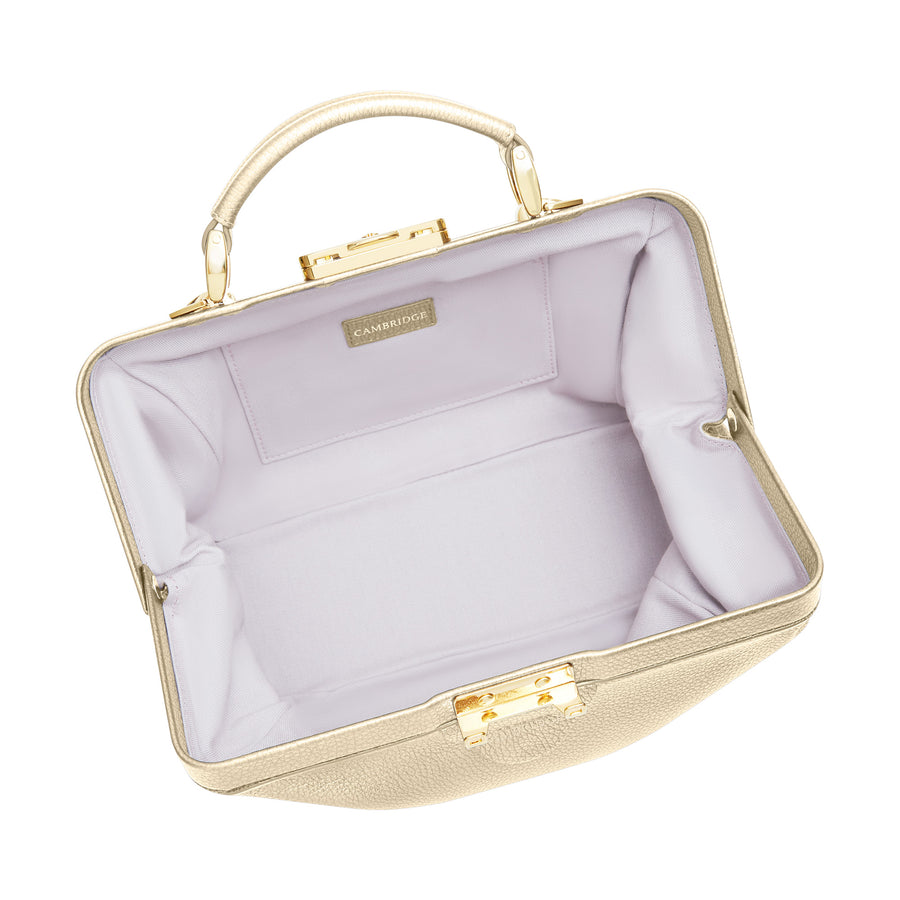 The Sophie - Champagne Calf Grain Leather | Cambridge Satchel Company