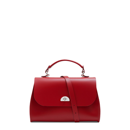 Daisy Bag in Leather - Red