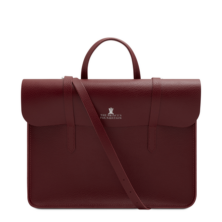 Oxblood Leather Cambridge Satchel Company Princes Foundation Bag