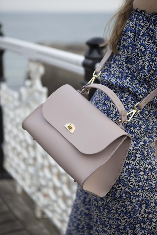 Womens- Daisy Bag in Leather - Dusk Matte